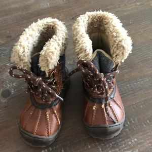 Baby Gap insulated boots
